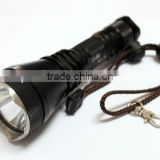 UniqueFire Cree XM-L T6 1000 Lumen LED Flashlight with 18650 Rechargeable Battery