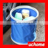 UCHOME Car Cleaning Collapsible Pop Up Folding Bucket