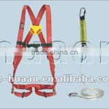 CE fall protection safety belt/cross shoulder safety belt