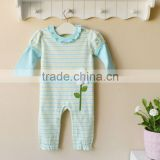mom and bab 2012 baby clothes 100% cotton embroider sleepwear