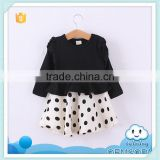 2014 new arrival baby girl birthday dress new item china baby girl dress polka dot tutu skirt