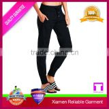 High quality black colour denim custom mens jogger pants blank