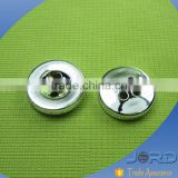 South America hot sale Girl Clothing plating Concave Two Hole Plastic ABS Sewing Buttons