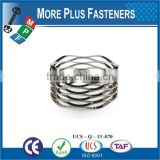 Made in Taiwan high quality wave spring Wave Washer wave spring lock washer