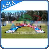 Human Hamster Ball Criss Cross Inflatable Race Track For Sale