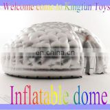 Shinny Silver inflatable shell/air office pod/air igloo dome