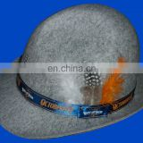 New adult German Alpine Hat with feather for oktoberfest bavarian festival celebrate