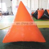 TOP inflatable qulity orange color paint ball equipment,inflatable paintball bunkers for sale