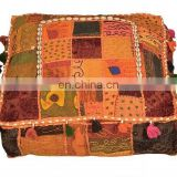 Special best selling vintage fabric ottomans cushion Sofa, Poufs, Ottomans, Stools