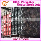 100% Polyester Fleece Shorts Athletic Apparel Textile Stock Lots