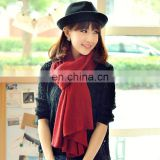 2014 Women pure acrylic solid Color Long pashmina(MO06--1)