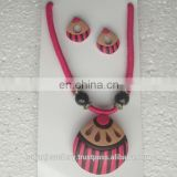 Terracotta Indian jewelry , beaded jewellery manufacturer