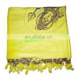 Yoga Scarves, Material : staple rayon, size 182x100 CM.