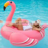 Wholesale Swimming Ring, Drop Shipping Inflatable Pool Float with Flamingo Shape Size: 190 x 200 x 130cm