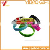 UV silicone bracelet wholesale /color changing silicone wristbands