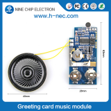 Music greeting card recording sound module electronic ic chips
