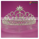 Bailange new arrival Headwear fancy rhinestone pageant crown