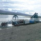Mini River Dredging Boat for Alluvial Gold Separating