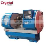Good Quality Large Bore Alloy Wheel AWR2840 China CNC Metal Turing Lathe Machine Price For Sale