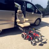 Lifting Car Seat Special handicap turning seat seating system with wheel chair base for the elder and disabled