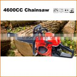 (940) new design petrol gasoline chainsaw 4600cc with CE and GS certificate