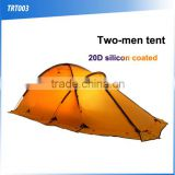 (160439) OEM/ODM light waterproof cheap outdoor folding silicon coated camping tent                                                                         Quality Choice