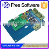 HSY-01B Door Sensor Alarm Free Software RFID Wiegand TCP/IP Network cable Access Control Board for automatic gate