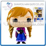 Mini Qute Funko Pop Kawaii Frozen doll princess anna & elsa action figures collection cartoon models educational toy NO.FP 81