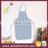 Anti oil Waterproof Printed plastic Bib kitchen Aprons cooking apron