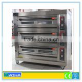 stainless steel deck baking oven /electric gas bread baking oven/ commercial bread machine
