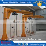 The small and light type Cantilever Crane/jib crane with Electric Hoist or chain hoist for Central America