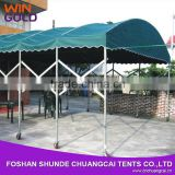 INquiry about Canvas carport green fodable carport with wheels for sale                                                                         Quality Choice