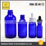 5-100ml blue green essential oil glass dropper bottle , empty bottles for e liquid wholesale