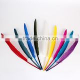 wholesale goose-quill dyed goose feather