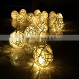 Cotton Ball Light For Wedding Decoration