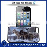 Very Cool Wolf Style 3D Image Case For iPHone 5
