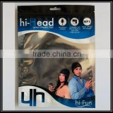 new products silver zip lock aluminium foil bag stand up pouch for package music hat                                                                         Quality Choice