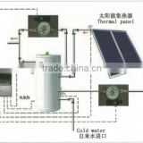 indirect active solar water heating system,Stainless steel water tank