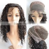 Factory Price Unprocessed Brazilian Human Hair Full Lace Wig, Large Stock Human Hair Lace Wigs