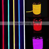 Beautiful lightings decoration strip lights ip65 110v 220v 4.5w/m led neon tube lights for rooms and outdoor