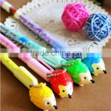 Black Refill Hedgehog Gel Ink Pen Mix Styles Pendant Pens Stationery Office/School Supplies