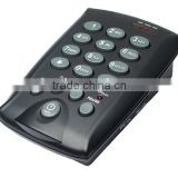 Professional Call center Headset Telephone dialpad