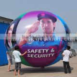 Inflatable pvc heluim human picture balloons