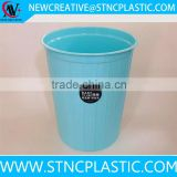 the trash pack bundle resin ash trash can garbage bin dustbin rubbish trash bin container barrel 2.7 Gallon