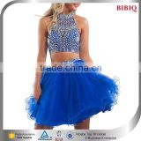 korean fashion blouse skirt dress top short puffy cute short homecoming dresses blue low half price prom dresses                                                                         Quality Choice