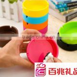 NEW smokless unbreakable silicone rubber ashtray 2013