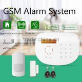 High quality wireless fire alarm system work with smoke detector & laser security wireless alarm system