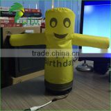 2016 Colourful Inflatable Desktop Air Dancer / Welcome Advertising Latest Desktop Indoor Small Inflatable Air Dancer For Sale