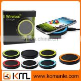 China Wholesale mobile phone accessory universal QI wireless charger for samsung s6 edge