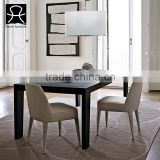 Modern dining room furniture black extension dining table hall tables